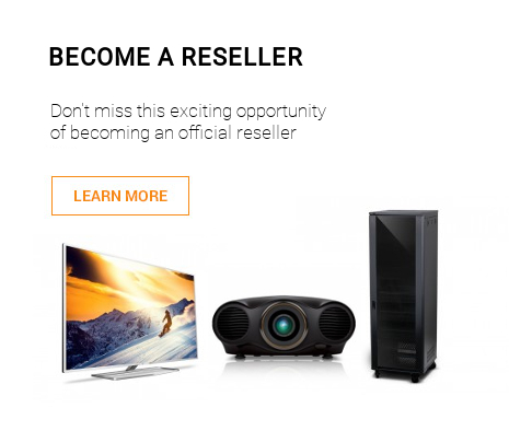 Becone a Reseller